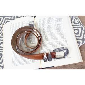Genuine leather Western belt